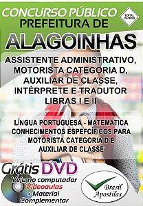 Alagoinhas - BA - 2019 - Apostilas Para Nível Médio e Superior