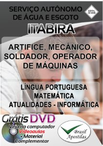Itabira - MG 0 2019 - Apostilas Para Nível Fundamental, Médo e Técnico