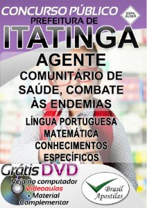 Itatinga - SP - 2019 - Apostila Para Nível Médio