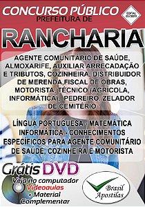 Rancharia - SP - 2019 - Apostilas Para Nível Fundamental, Médio, Técnico e Superior