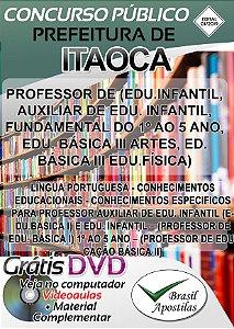 Itaoca - SP - 2019 - Apostila Para Professor