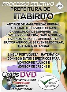 Itabirito - MG - 2019 - Apostilas Para Nível Fundamental, Médio, Técnico e Superior