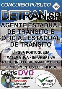 DETRAN - SP - 2019 - Apostila PREPARATÓRIA Para Nível Médio e Superior