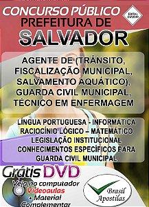 Salvador - BA - 2019 - Apostilas Para Nível Médio, Técnico e Superior