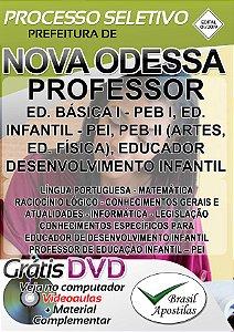 Nova Odessa - SP - 2019 - Apostila Para Professores