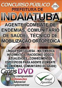 Indaiatuba - SP - 2019 - Apostila Para Ensino Médio e Técnico