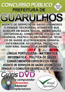 Guarulhos - SP - 2019 - Apostila Para Ensino Fundamental e Médio