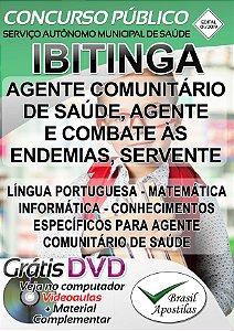 Ibitinga - SP - SAMS 2019 - Apostila Para Ensino Fundamental e Médio