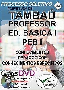 Tambaú - SP - 2019 - Apostila Para Professor PEB I