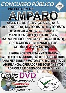 Amparo - SP - 2019 - Apostilas Para Nível Fundamental, Médio e Superior