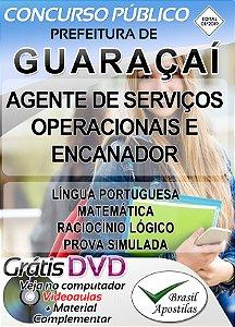 Guaraçaí - 2019 - Apostila para Nível Fundamental