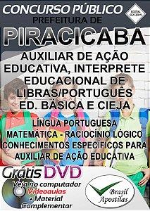 Piracicaba - SP - 2019 - Apostilas Para Nível Médio e Superior