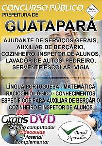 Guatapará - SP - 2019 - Apostilas Para Nível Fundamental, Médio e Superior