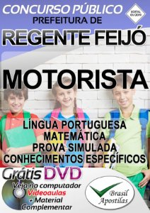 Regente Feijó - SP - 2019 - Apostila Para Motorista