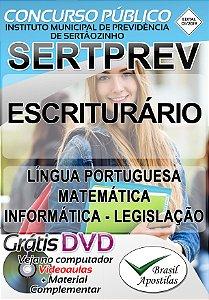 SERTPREV - Sertãozinho - Apostila Para Escriturário