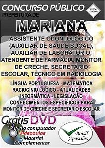 Mariana - MG - 2019 - Apostilas Para Nível Médio