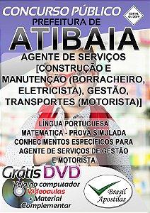Atibaia - SP - 2019 - Apostilas Para Nível Fundamental, Médio e Superior