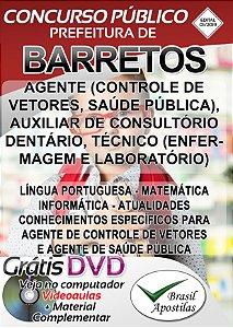 Barretos - SP - 2019 - Apostila Para Nível Médio