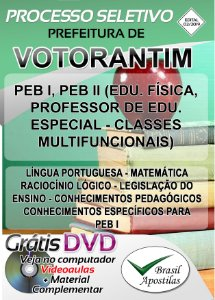 Votorantim - SP - 2019 - Apostila Para Professor