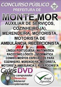 Monte Mor - SP - 2019 - Apostilas Para Nível Fundamental, Médio e Superior