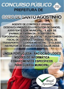 Cabo Verde de Santo Antônio - BA - 2019 - Apostilas Para Nível Médio, Técnico e Superior - VERSÃO DIGITAL