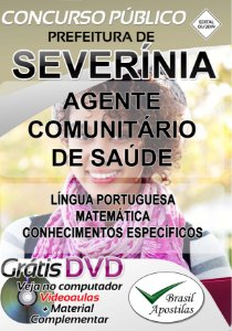 Severínia - SP - 2019 - Apostila Para Agente Comunitário de Saúde