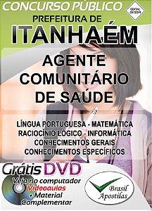 Itanhaém - SP - 2019 - Apostila Para Agente Comunitário de Saúde
