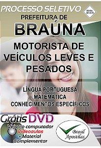 Braúna - SP - 2019 - Apostilas Para Nível Fundamental e Superior