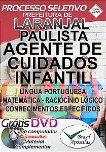 Laranjal Paulista - SP - 2019 - Apostila Para Nível Médio e Superior