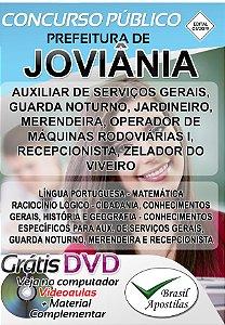 Joviânia - GO - 2019 - Apostilas Para Nível Fundamental, Médio, Técnico e Superior