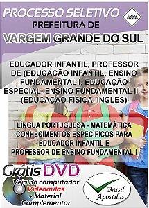 Vargem Grande do Sul - 2019 - Apostila Para Professor