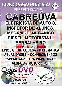 Cabreúva - SP - 2019 - Apostilas Para Nível Fundamental, Médio e Superior