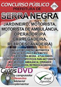 Serra Negra - SP - 2019 - Apostilas Para Nível Fundamental e Médio