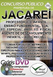 Jacareí - SP - 2019 - Apostila Para Nível Médio e Superior