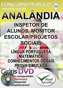 Analândia - SP - 2019 - Apostilas Para Nível Fundamental e Médio