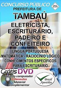 Tambaú - SP - 2019 - Apostilas Para Nível Fundamental, Médio e Superior