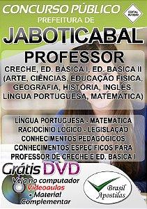 Jaboticabal - SP - 2019 - Apostila Para Professor