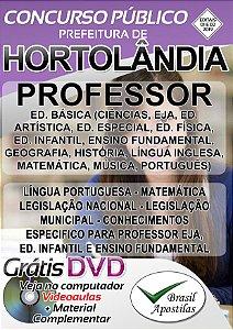 Hortolândia - SP - 2019 - Apostila Para Professor