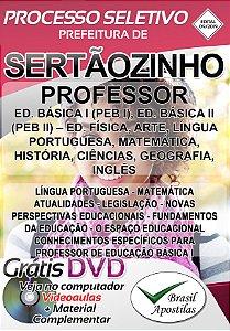 Sertãozinho - SP - 2019 - Apostila Para Professor