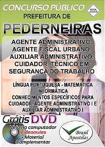 Pederneiras - SP - 2019 - Apostilas Para Nível Fundamental, Médio, Técnico e Superior