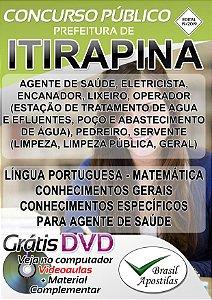 Itirapina - SP -2019 - Apostilas Para Nível Fundamental, Médio e Técnico