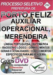Porto Feliz - SP - 2019 - Apostilas Para Nível Fundamental, Médio e Superior