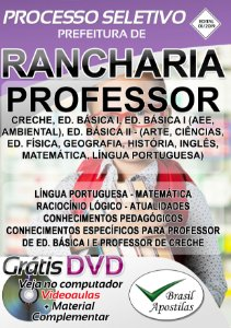 Rancharia - SP - 2019 - Apostila Para Professor