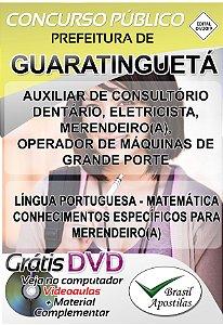 Guaratinguetá - Sp - 2019 - Apostilas Para Nível Fundamental, Médio, Técnico e Superior