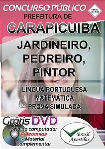 Carapicuíba - SP - 2019 - Apostilas Para Nível Fundamental e Médio