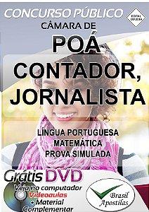Poá - SP - 2019 - Câmara - Apostila Para Nível Superior