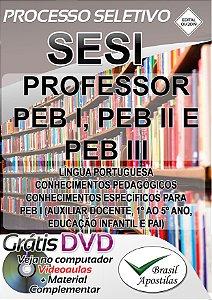 SESI - SP - 2019 - Apostila Para Professor