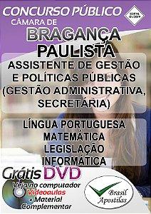 Bragança Paulista - SP - 2019 - Apostila Para Nível Médio