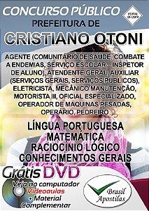 Cristiano Otoni - MG - 2019/2020 - Apostilas Para Nível Fundamental, Médio, Técnico e Superior