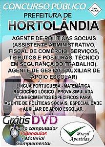 Hortolândia - SP - 2019/2020 - Apostilas Para Nível Fundamental e Médio